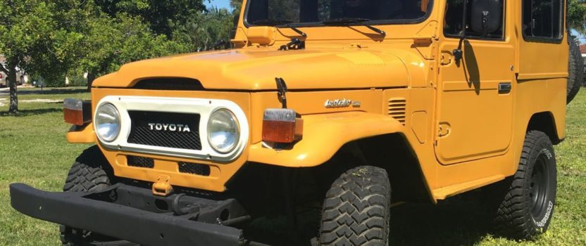 What I've Done to Toyota My FJ40